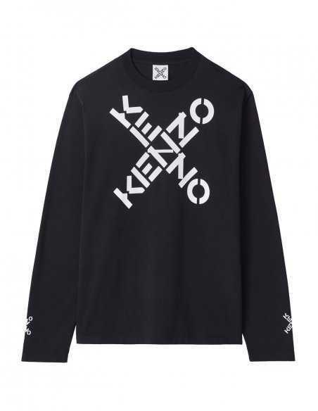 Sweatshirt 'Big X' Noir | Kenzo Homme Toulouse