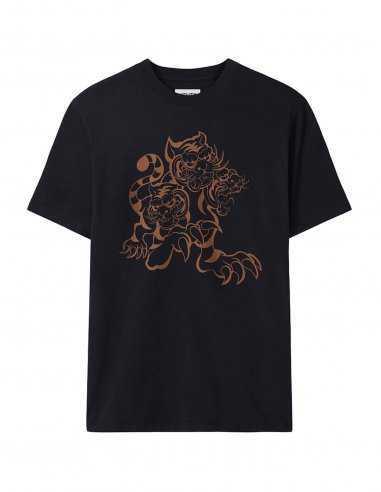 Kenzo - T-shirt Noir 'Trois Tigres' Kenzo x KansaiYamamoto | Toulouse