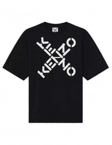 Kenzo Sport - T-shirt Noir Logo 'Big X' | Toulouse