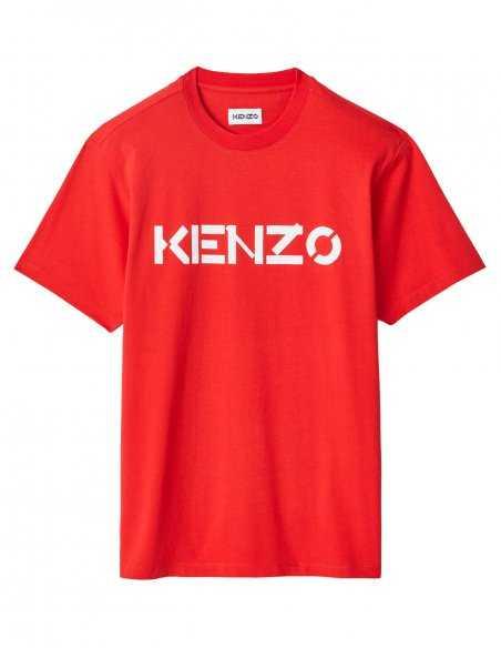 T-shirt Rouge Logo Kenzo   Kenzo Homme Toulouse