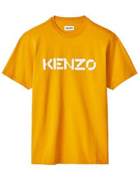 T-shirt Jaune Logo Kenzo | Kenzo Homme Toulouse