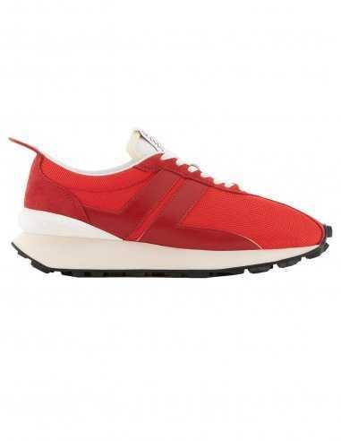 Sneakers Bumpr en Mesh Rouge | Lanvin à Toulouse