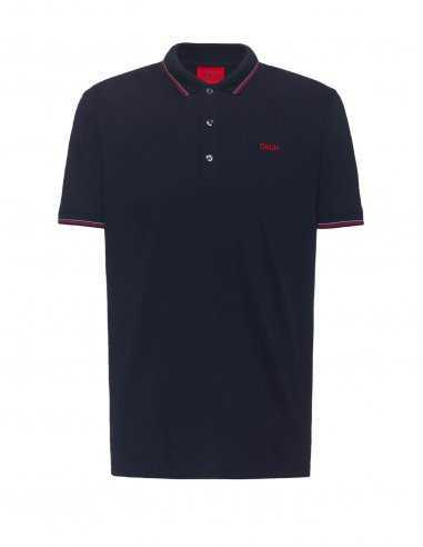 Polo Slim Fit en Coton Bleu Foncé | Hugo Boss Toulouse
