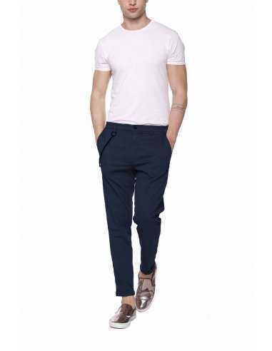 Pantalon Osaka en Coton Bleu Marine   Mason's à Toulouse