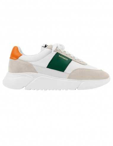 sneakers - home - Toulouse - verte - orange - blanche - axel arigato
