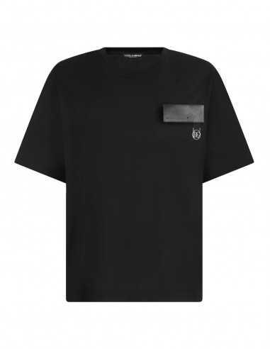 T-shirt en Coton à écusson DG   Dolce & Gabbana pour Homme à Toulouse