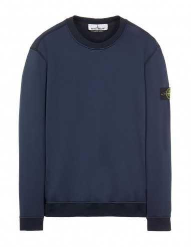 Sweatshirt en Coton Nylon Bleu - Stone Island pour Homme à Toulouse