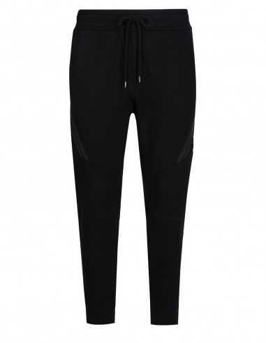 Pantalon de survêtement Noir en Coton | Boutique Soulery Homme à Toulouse