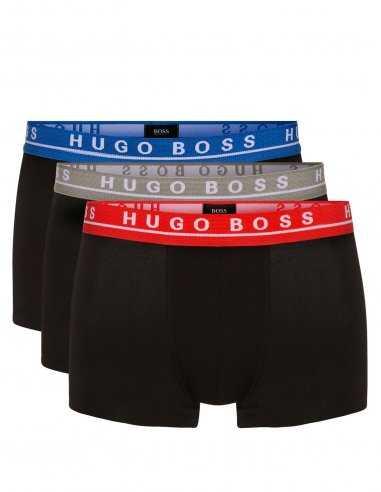 Ceinture BOSS lot de 3 boxers coton