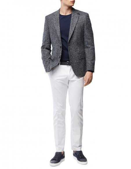 Veste en laine Boss par hugo boss pour homme, coudière, pour tous les style casual, habillé